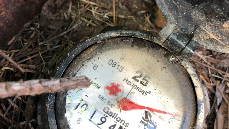 Plumbing Leak in Lakeland | How to Use Your Water Meter to Check for a Plumbing Leak